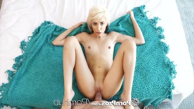 Блондинка Хайм Мари красиво трахалась с приятелем и мечтала кончить